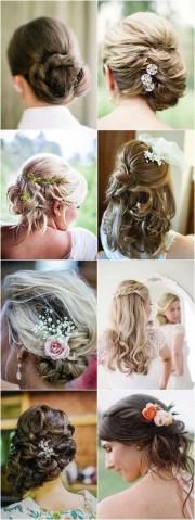 romantic long wedding hairstyles
