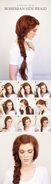 easy elegant step-step hair