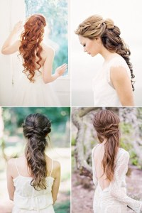 100+ Romantic Long Wedding Hairstyles 2018 - Curls, Half ...