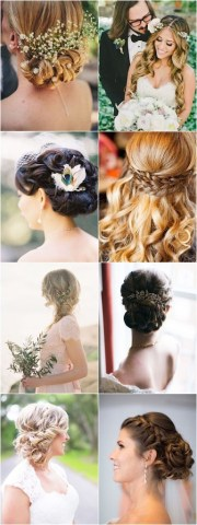 romantic long wedding hairstyles