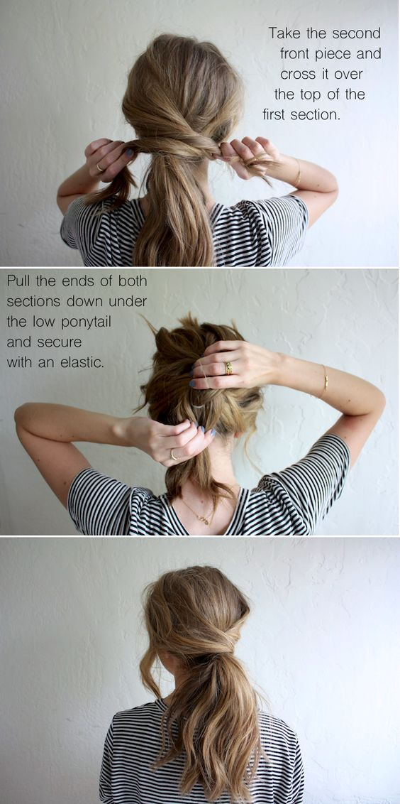 30 Cute Messy Ponytail Hairstyles Hairstyles Ideas Walk The Falls