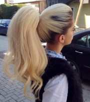 cute ponytails long & medium