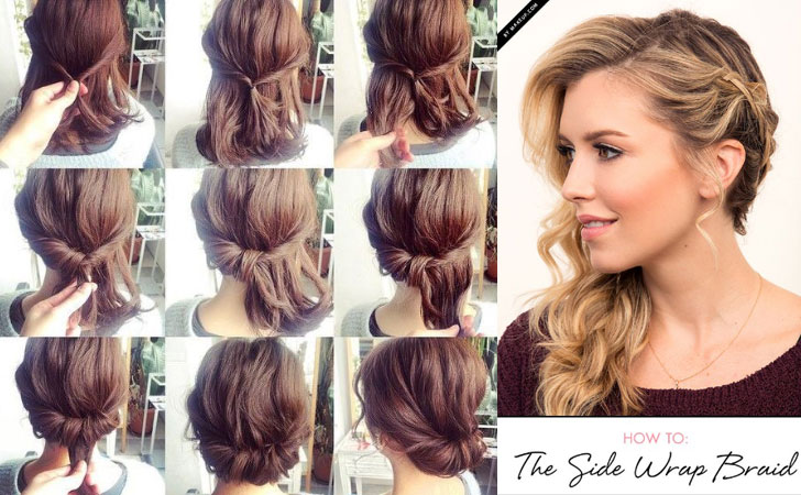 60 Easy Step by Step Hair Tutorials for Long MediumShort