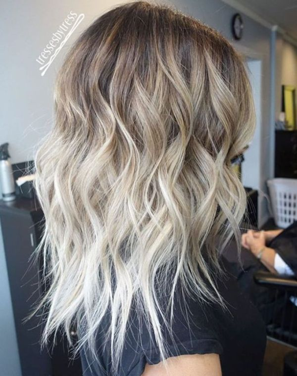 30 Ombre Medium Length Up Hairstyles Hairstyles Ideas Walk The
