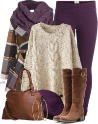 11 Cute Cozy Fall Outfits With Scarves - Her Style Code
