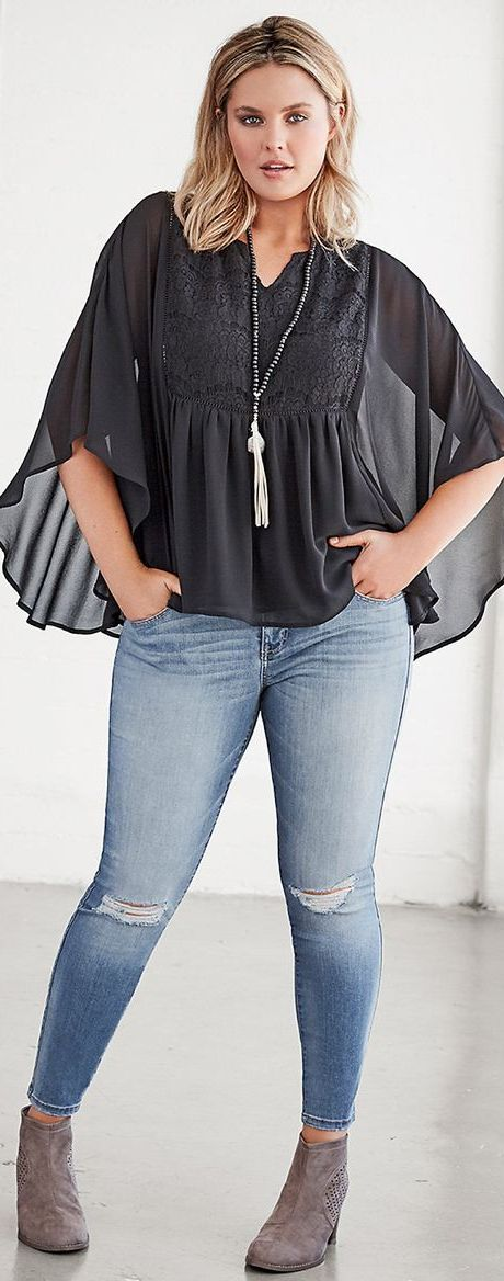 How to Wear Plus-Sized Clothing