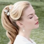 simple easy ponytail hairstyles