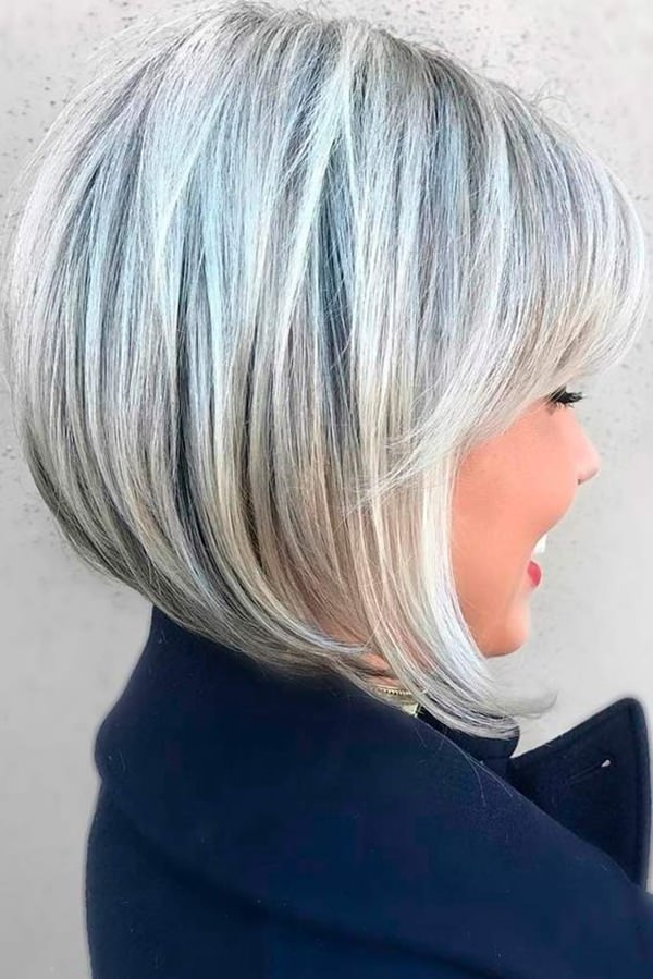 40 Hottest Bob Hairstyles  Haircuts 2019  inverted mob Lob ombre balayage