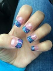pretty solar nails