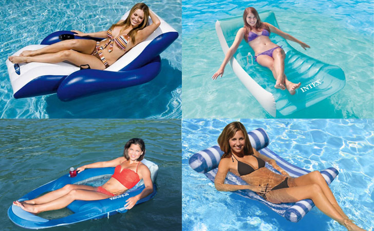 inflatable water chairs for adults picnic time sports chair 10 best swimming pool loungers 2019 top floating
