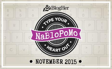 NaBloPoMo Nov 2015