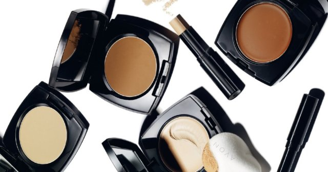 Avon foundations, blushes, bronzers and concealers