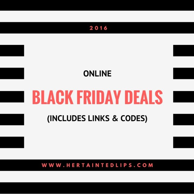 Black Friday Deals and Coupon Codes