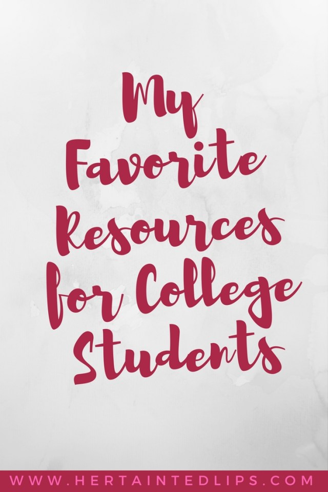 resources for college students