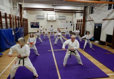 Weapon Training | Buntingford Karate Club