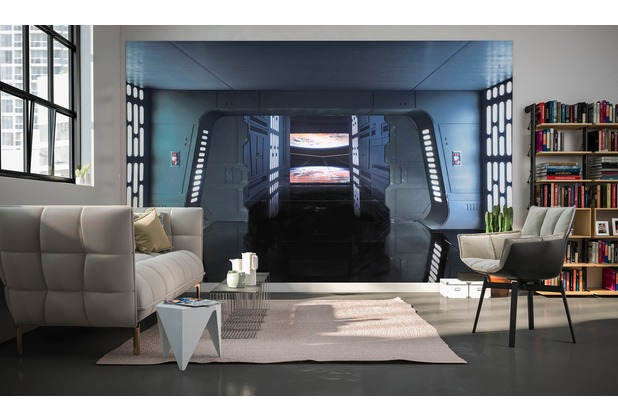 Komar Fototapete Star Wars Death Star Floor 400 x 250 cm