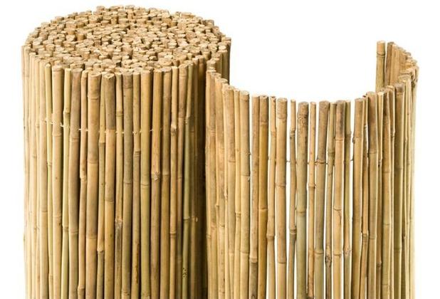NOOR Bambusmatte Bahia Bambus Sichtschutz Zaun Balkon