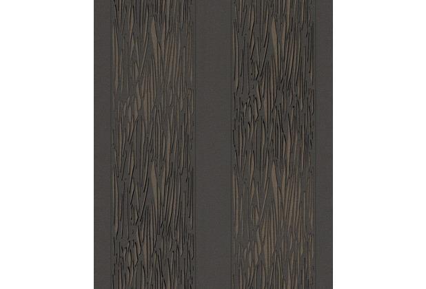 Rasch Tapete schwarz braun 773125  Hertiede
