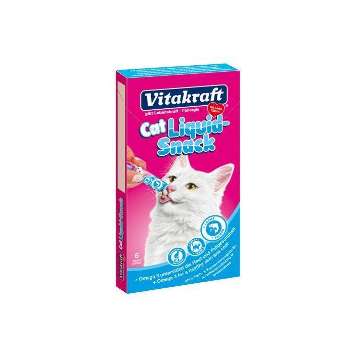 vitakraft liquid snacks voor de kat