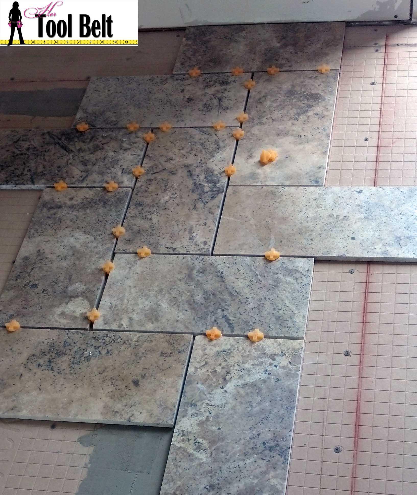 dryfit tile pattern her tool belt