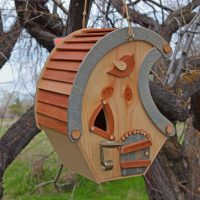 Whimsical Birdhouse