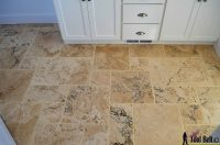 Travertine Versailles Pattern Tile Tutorial - Her Tool Belt