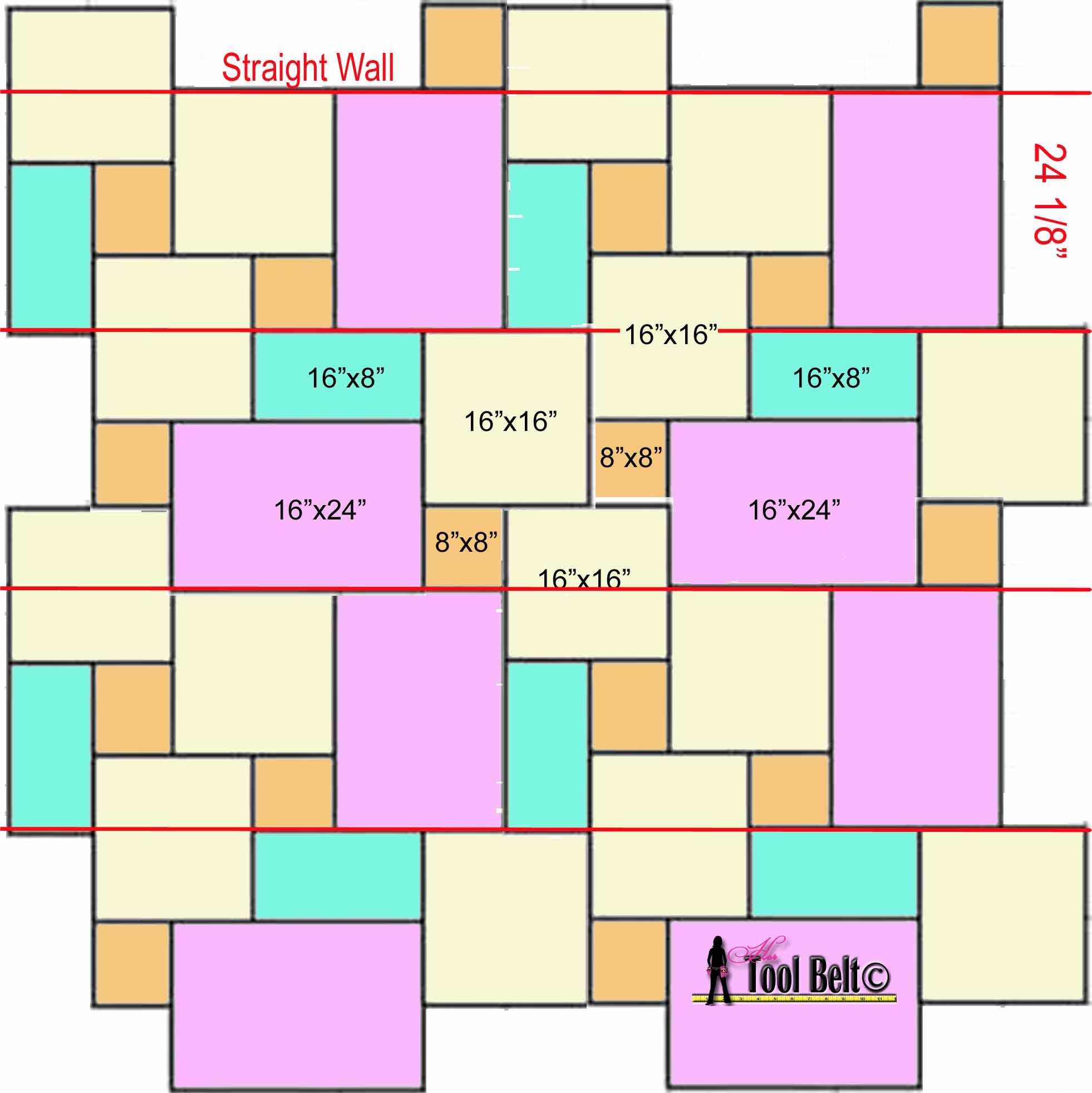 Room Measurement Tool Travertine Versailles Pattern Tile Tutorial Her Tool Belt