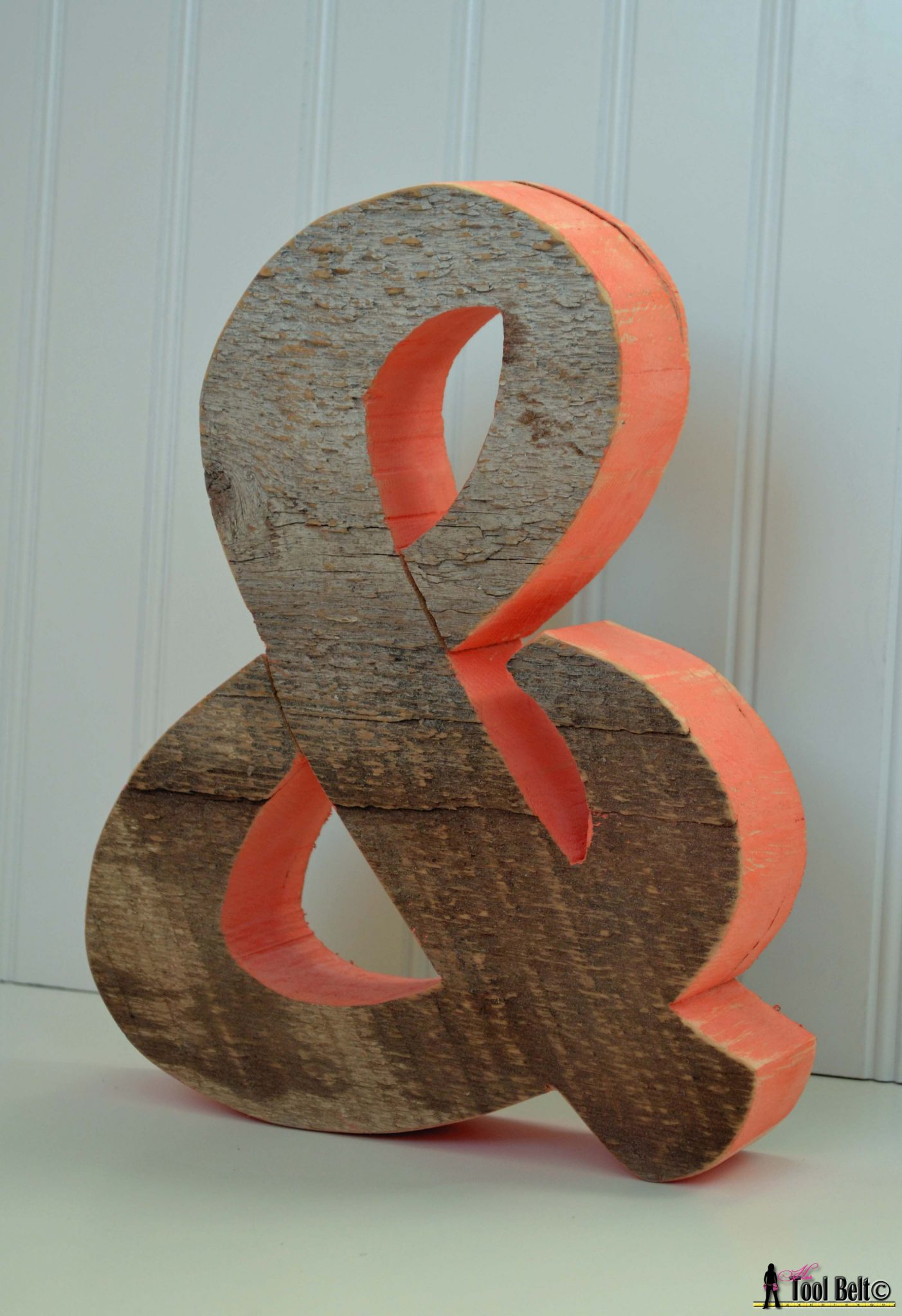 Rustic Ampersand and symbol  Her Tool Belt