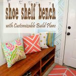 Shoe Shelf Bench Her Tool Belt