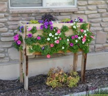 Ana White Cascading Planter Pallet Project Featuring