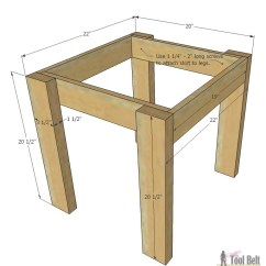 How To Make A Plywood Chair Heated Blanket For Office Simple Kid S Table And Set Her Tool Belt Build An Easy The Little Kids Costs About