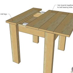 How To Make A Plywood Chair Chicco High Recall 2018 Simple Kid S Table And Set Her Tool Belt Build An Easy Kids With Sliding Top Store Legos