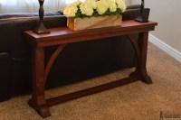 Narrow Sofa Table - Her Tool Belt