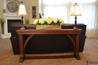 Thin Sofa Tables Long Skinny Sofa Table Best Home ...