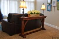 Narrow Sofa Tables Narrow Sofa Table Her Tool Belt - TheSofa