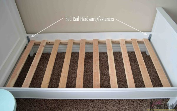 DIY Bed Rail
