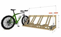 How To Build A Bike Stand Out Of Wood - Bicycling and the ...