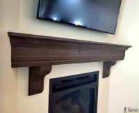 Fireplace Mantel Cover