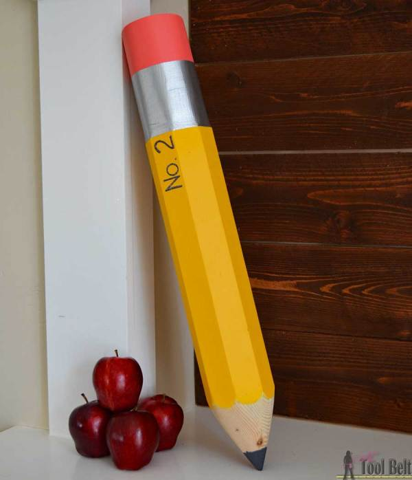 Giant Pencil Decoration
