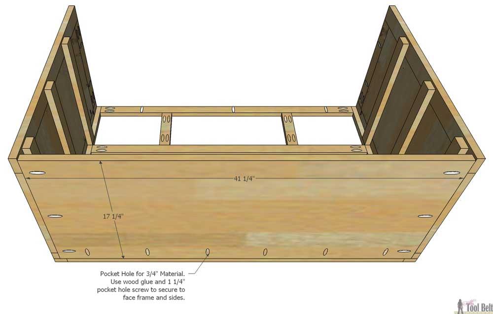 How To Build A Dresser Frame