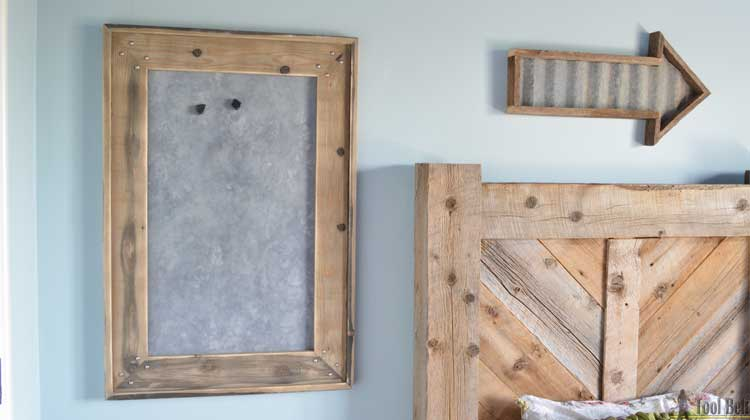 Rustic Farmhouse Magnet Board And Frame Her Tool Belt