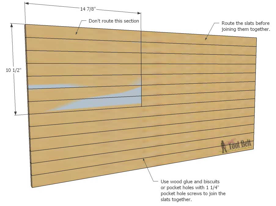 American Flag Cutting Board Dimensions