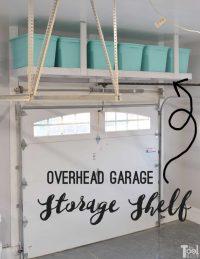 Overhead Garage Storage Shelf - Her Tool Belt