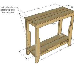 How To Make A Sofa Table Top Slipcovered Leather Diy Free Pallet Porch Her Tool Belt Grab Couple Of Pallets And Cute Farmhouse Style Entry For The