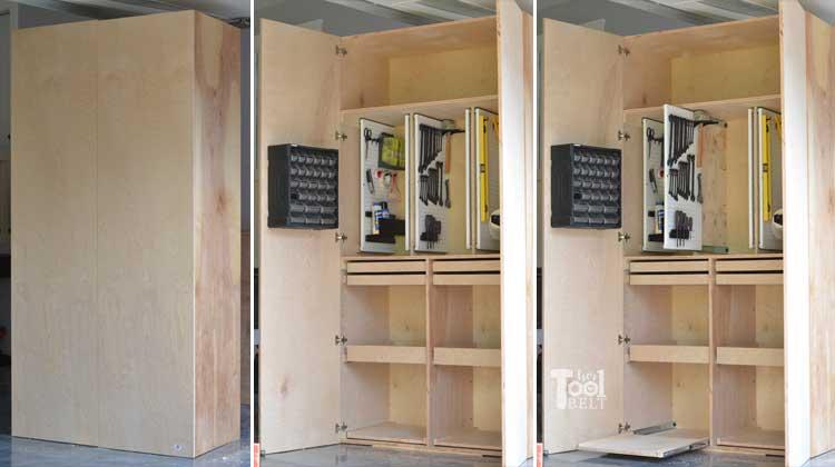Beau Garage Hand Tool Storage Cabinet Plans