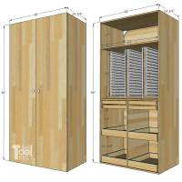 Wooden Tool Storage Cabinet Plans | Bruin Blog