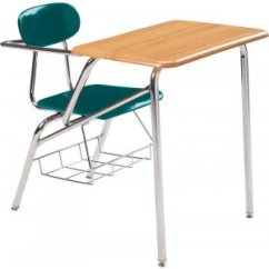 Folding Chair Desk Combo Covers Amazon Student Woodstone Top Support Brace 19 H