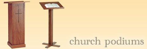 Church Pulpits Church Podiums Pulpit Furniture  Church