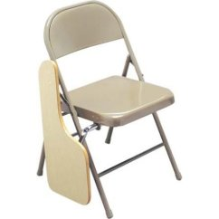 Folding Desk Chair Revolving Price Below 2000 Tablet Arm With Built In Right Handed Writing Miracle Fold