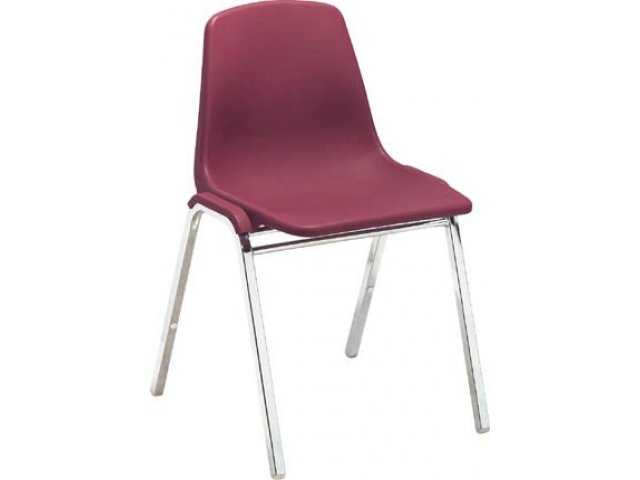 stackable chairs for less heywood wakefield dining chair styles plastic shell stacking 7500 tablet arm